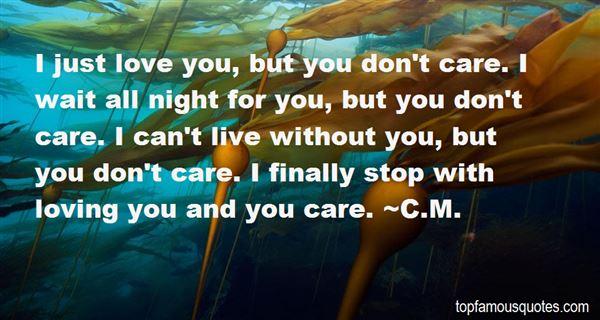 C.M. Quotes