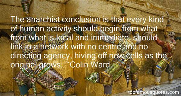 Colin Ward Quotes