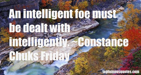Constance Chuks Friday Quotes
