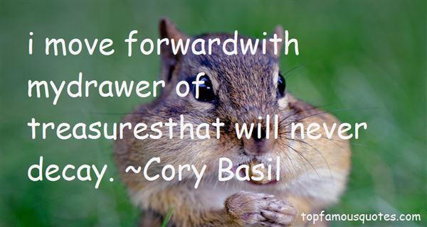 Cory Basil Quotes