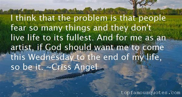 Criss Angel Quotes