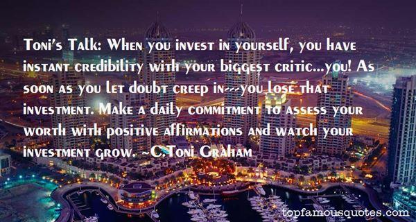 C.Toni Graham Quotes