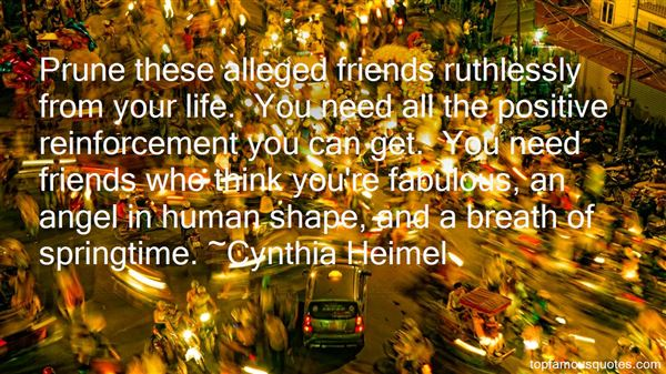 Cynthia Heimel Quotes