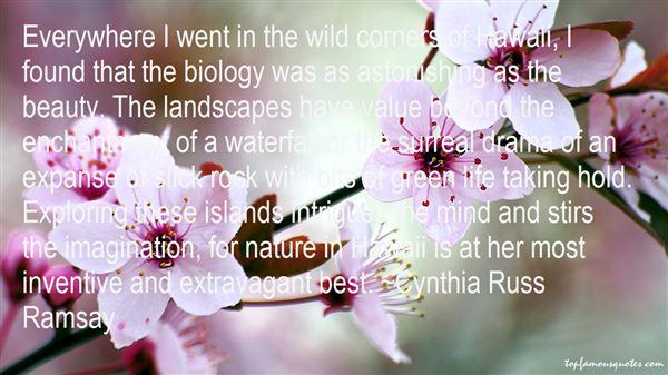 Cynthia Russ Ramsay Quotes