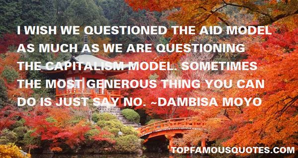 Dambisa Moyo Quotes