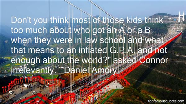 Daniel Amory Quotes