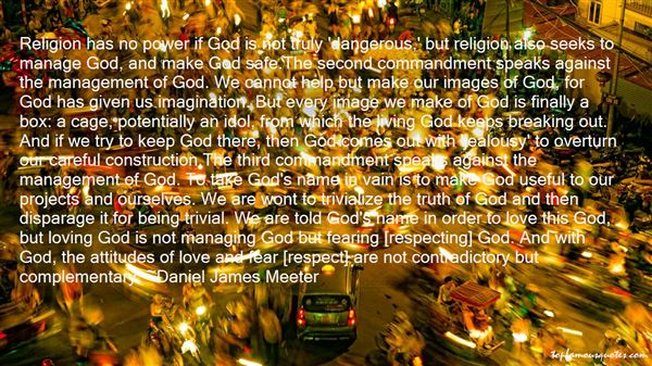 Daniel James Meeter Quotes