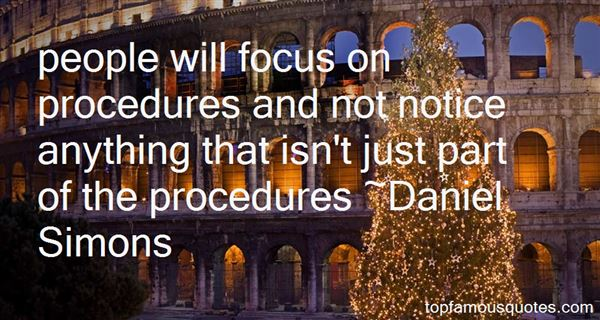 Daniel Simons Quotes