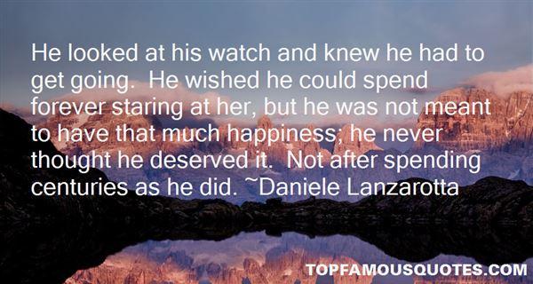 Daniele Lanzarotta Quotes