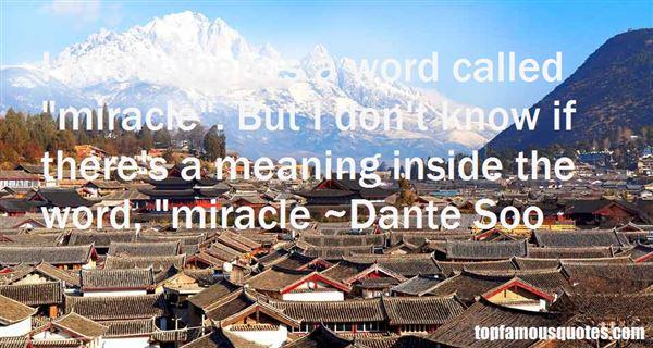 Dante Soo Quotes