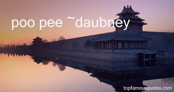 Daubney Quotes