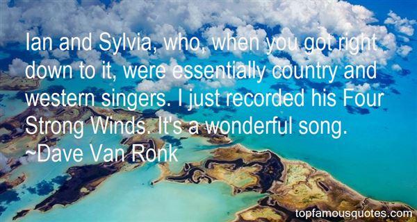 Dave Van Ronk Quotes
