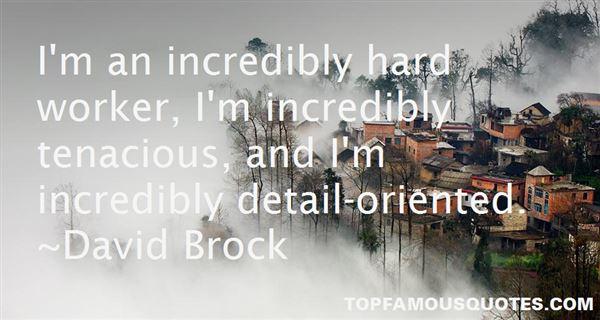 David Brock Quotes