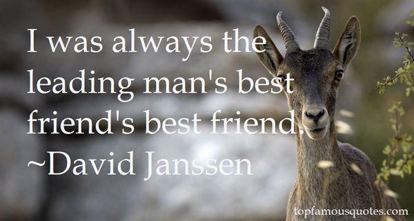 David Janssen Quotes