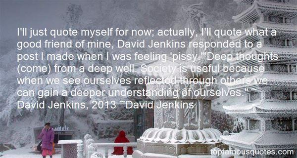 David Jenkins Quotes