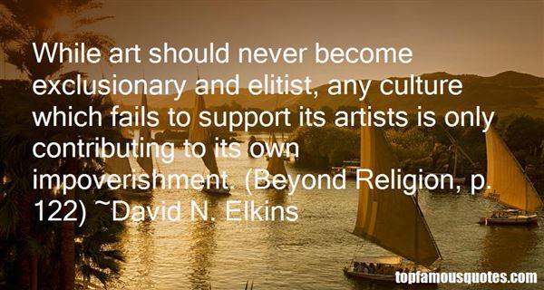 David N. Elkins Quotes