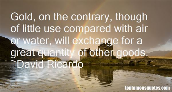 David Ricardo Quotes