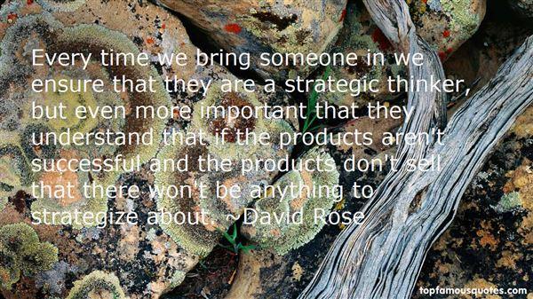 David Rose Quotes