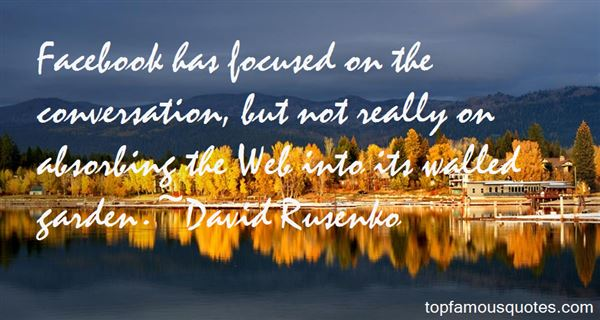 David Rusenko Quotes