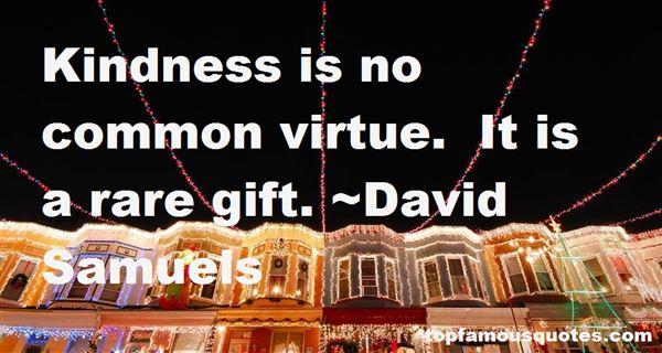 David Samuels Quotes