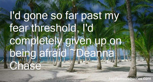 Deanna Chase Quotes