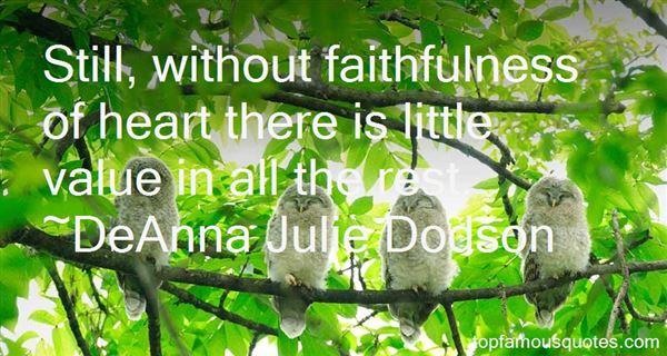DeAnna Julie Dodson Quotes