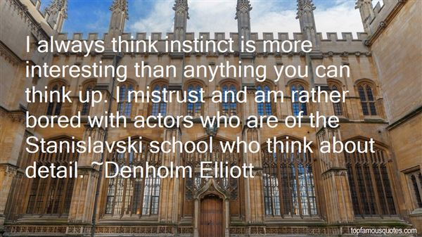 Denholm Elliott Quotes