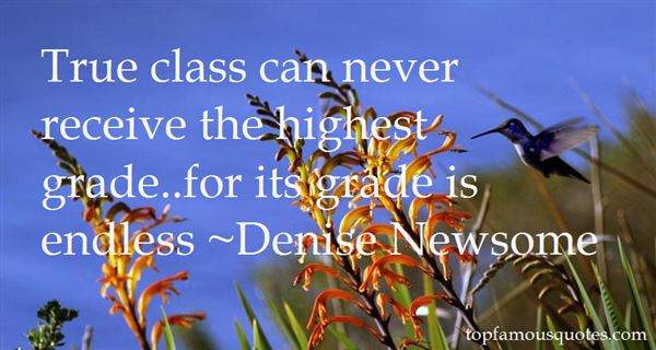 Denise Newsome Quotes