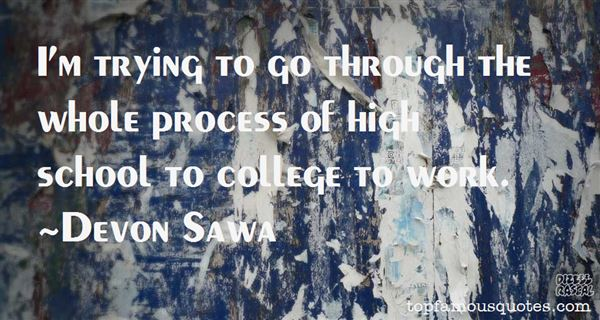 Devon Sawa Quotes
