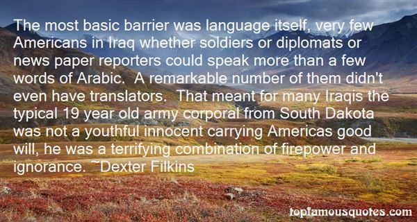 Dexter Filkins Quotes