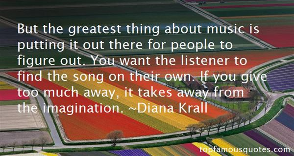 Diana Krall Quotes