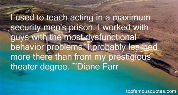 Diane Farr Quotes