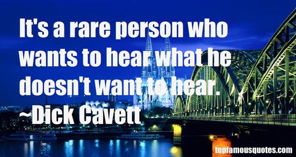 Dick Cavett Quotes