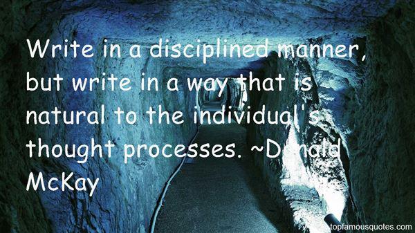 Donald McKay Quotes