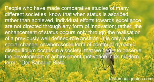 Dor Bahadur Bista Quotes