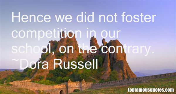 Dora Russell Quotes