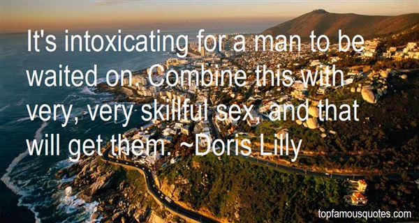 Doris Lilly Quotes