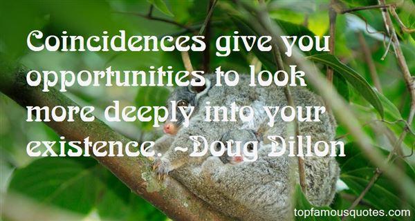 Doug Dillon Quotes