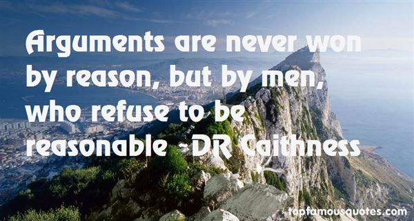 DR Caithness Quotes