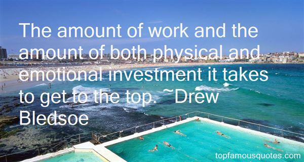 Drew Bledsoe Quotes