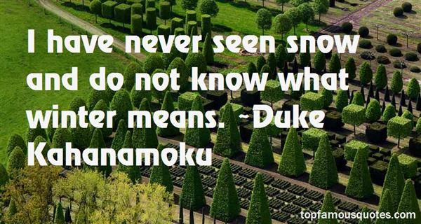 Duke Kahanamoku Quotes