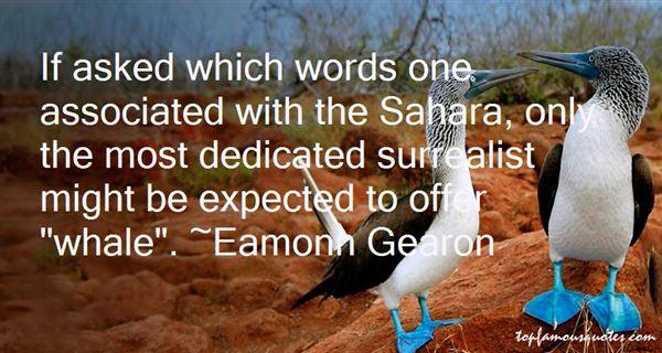 Eamonn Gearon Quotes
