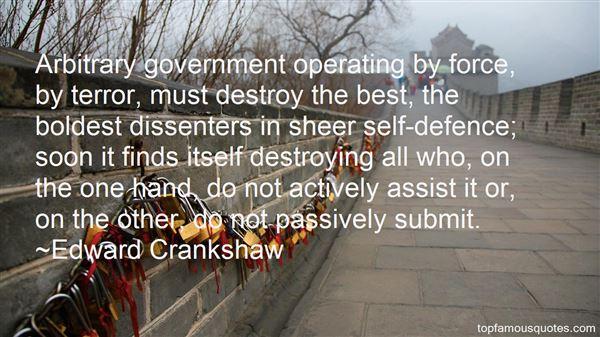 Edward Crankshaw Quotes