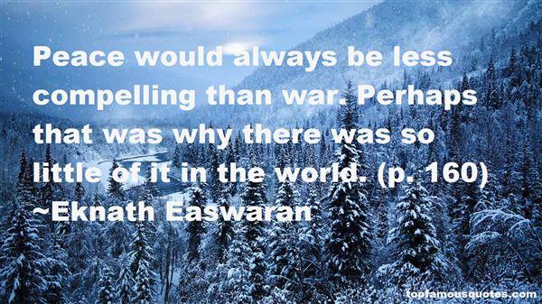 Eknath Easwaran Quotes