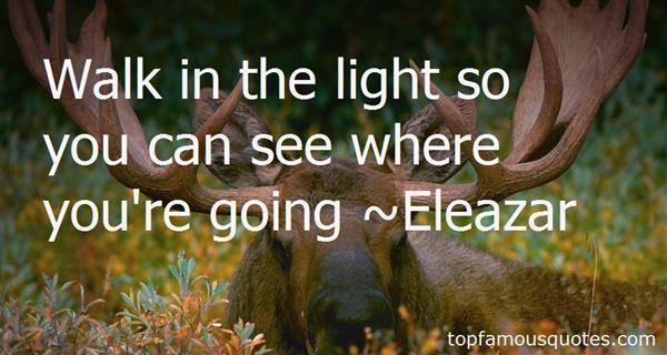 Eleazar Quotes
