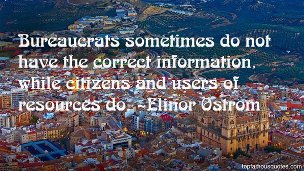 Elinor Ostrom Quotes