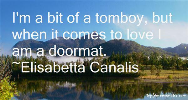 Elisabetta Canalis Quotes