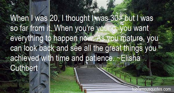Elisha Cuthbert Quotes