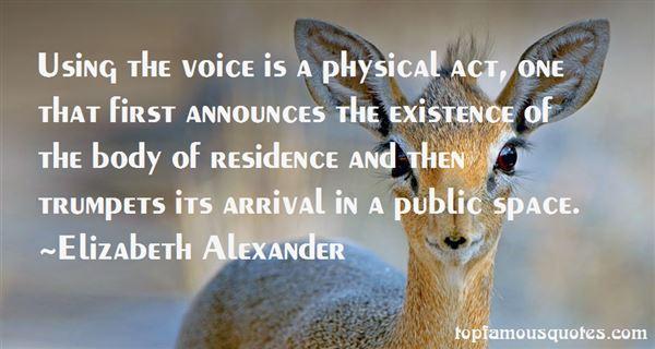 Elizabeth Alexander Quotes