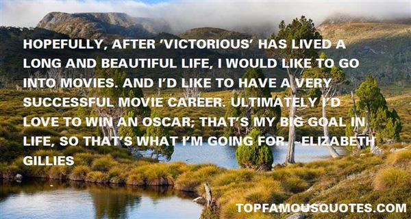 Elizabeth Gillies Quotes